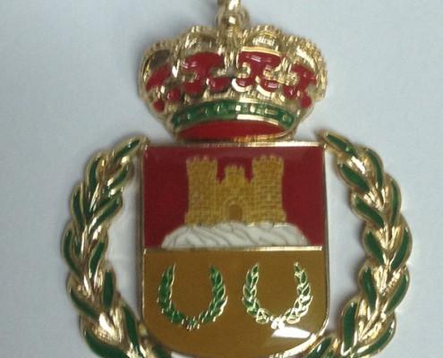 Medalla para ayuntamientos
