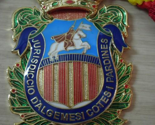 Medalla de cuello del Ayuntamiento de Algemesi