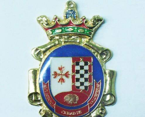 Medalla de solapa de Ayuntamiento de Valdepeñas